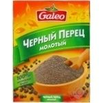 Spices black pepper Galeo ground 17g