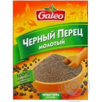 Перец черный Галео молотый 17г