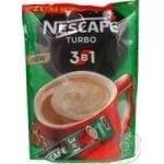 Напиток кофейный Nescafe 3в1 Turbo растворимый в стиках 52*16г