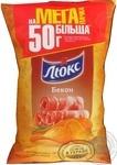 Чипсы картофельные Люкс со вкусом бекона 183г