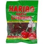 Конфеты Haribo Веселая вишня фруктовые жевательные 200г