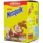 Beverage Nesquik with cocoa 13.5g cardboard packaging
