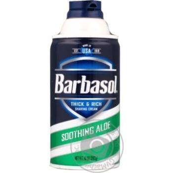 Піна для гоління Barbasol з алое для сухої шкіри 283г