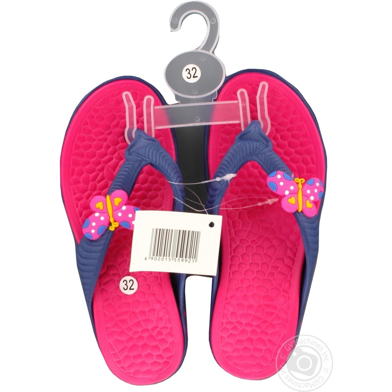 Взуття пляжне дитяче р.30-35 Nov-0101-2 → Для дому → Одяг та ... 1ad1302f3247b