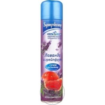 Освіжувач повітря Symphony Лаванда та грейпфрут 300мл