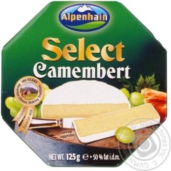 Сыр Альпенхайн камамбер мягкий с плесенью 50% 125г