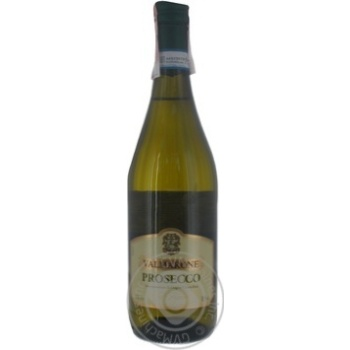 Вино игристое VALMARONE Prosecco spumante белое сухое 11% 0,75л