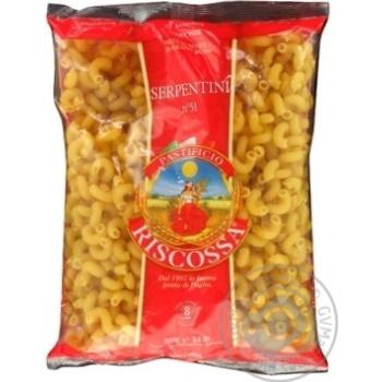 Макаронные изделия Riscossa Серпантини №51 500г