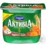 Danone Activia Dried Apricot Linen Bifidoyogurt