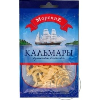 Snack squid Morskie squid 18g
