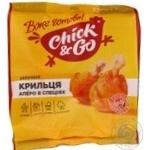 Крильця Аперо в спеціях в полімерному пакеті в газі Chick&Go 320г