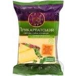 Сир Клуб сиру Прикарпатський твердий з овечим молоком 50% 200г Україна