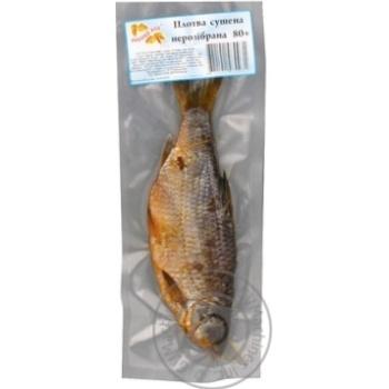 Плотва сушена нерозібрана Рибний Рай в вакуумній упаковці 80-110г - купить, цены на Novus - фото 1