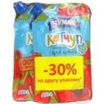 Набір Кетчуп Лагідний для дітей д/п 200г*1+1-50%