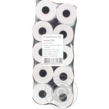 Кассовая лента 80 термо 21м 10шт - купить, цены на Метро - фото 2
