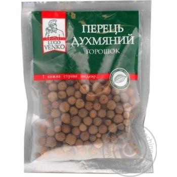 Перець духмяний горошок прозора серiя Lugo Venko 40г - купить, цены на Novus - фото 1