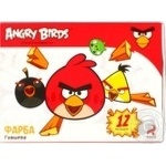Фарба гуашева, 12 кольорів Cool for School Angry Birds 10см? AB03672