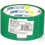 Скотч пакувальний BuroMax зелений 48мм*35м