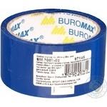 Скотч пакувальний BuroMax синій 48мм*35м
