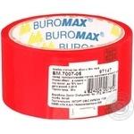 Скотч пакувальний BuroMax червоний 48мм*35м
