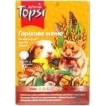Корм Topsi Ореховое меню для грызунов 510г