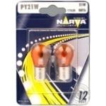 Лампа Narva 17638 PY21W BAU15s 12V блістер 2шт арт. 955180