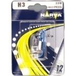 Лампа Narva 48321 H3 55W PK22s 12V блістер 1шт арт. 303172