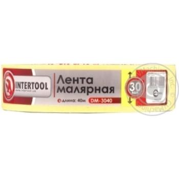 Стрічка малярна InterTool 30мм 40м DM-3040