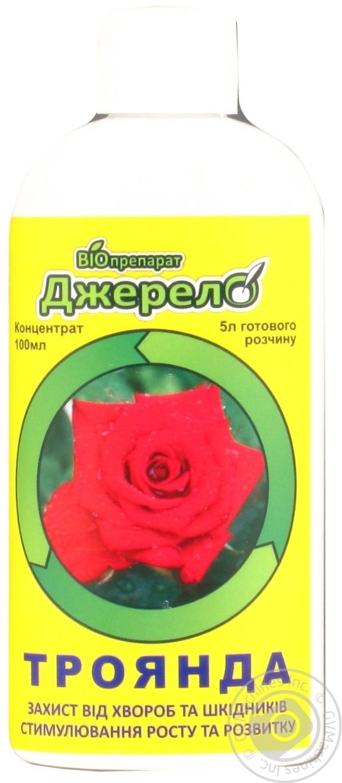 Біопрепарат Джерело для підживлення і захисту троянд 100мл → Для ... 88b3f64ae2f1a