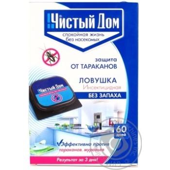 Пастка інсектицидна Чистий дім 02102 50 шт./кор.