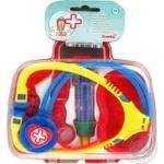 Набір лікаря у кейсі 5 предметів 2 види Simba 5545260
