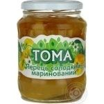 Vegetables pepper Toma pickled 660g glass jar