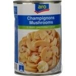 Mushrooms cup mushrooms Aro canned 425ml can