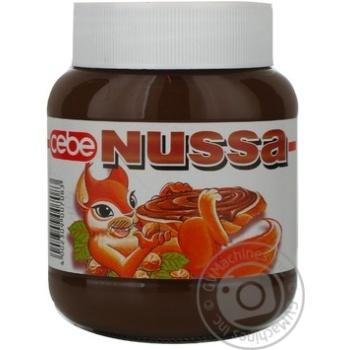 Крем Nussa шоколадно-ореховый 400г