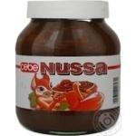 Крем Nussa шоколадный классический 750г