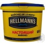 Mayonnaise Hellmanns Spravzhniy 78% 2500g Russia