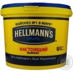 Mayonnaise Hellmanns Spravzhniy 78% 5000g Russia
