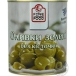 Fine Food Pitted Green Olive