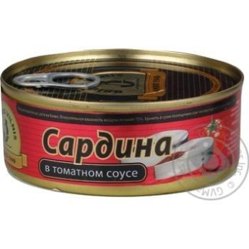 Сардина Брівайс Вільніс в томатному соусі 240г