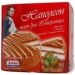 Торт-мороженое Ласка Наполеон 900г Украина