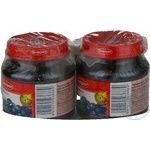 Puree Semper blueberry for children 125g