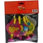 Дудки-язычки Eventa пластиковые с декором 6шт - купить, цены на Novus - фото 6