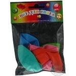 Кулі повітряні Все для свята Party Favors асорті 5шт 61100/5 - купити, ціни на Novus - фото 2