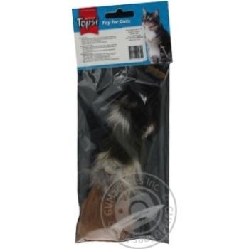 Іграшка Topsi для тварин Миша пухнаста Art.1601 х6 - купити, ціни на МегаМаркет - фото 3