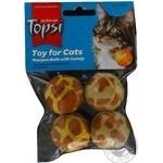 Topsi Balls-pompoms Toy for Cats 4cm 4pcs