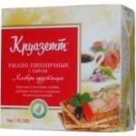 Crispbread Kruazett rye-wheat with cheese 200g Russia