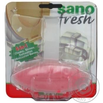 Засіб для миття унітазу Optima Sano Полуниця 50г - купить, цены на Novus - фото 5
