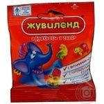 Candy Zhuvilend Slastiki 35g packaged Ukraine