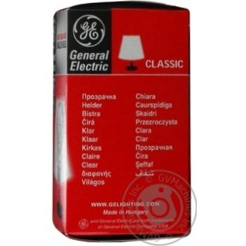 Bulb General electric e27 75w 240v - buy, prices for Novus - image 3