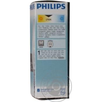 Лампа Philips B35 свічка прозора 60w Е14 CL - купить, цены на Novus - фото 8